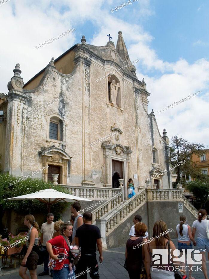 Imagen: Church of San Giuseppe, Taormina. Sicily, Italy.