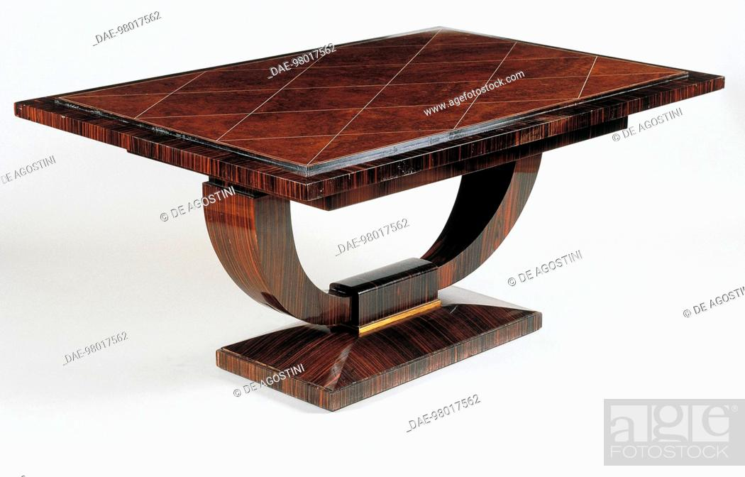 Art Deco Style Dining Room Table Vuillerme Model Ca 1925 By