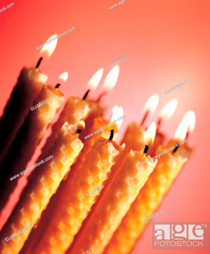 Stock Photo: Candles.