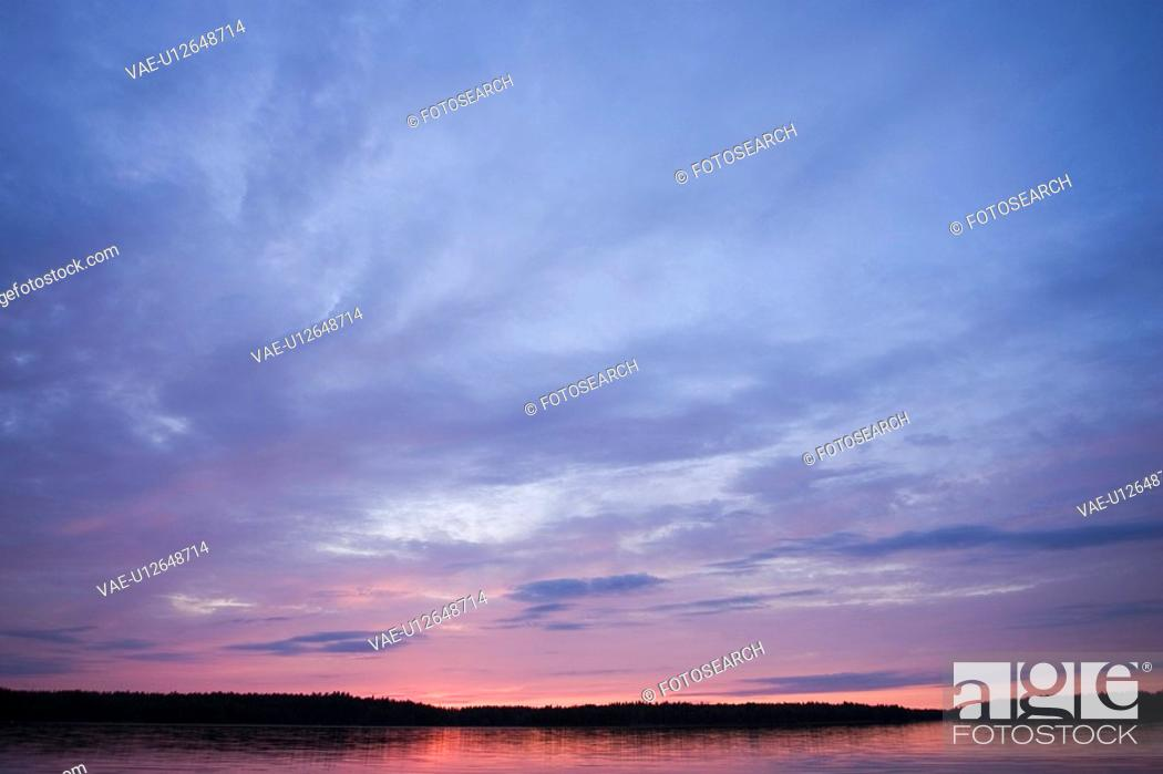 Stock Photo: Calm, Clouds, Milieu, Nature.