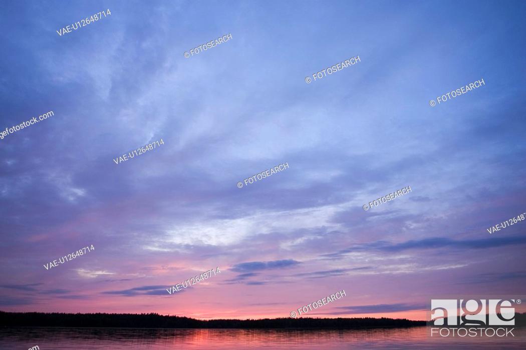 Stock Photo: Calm, Clouds, Milieu, Nature.