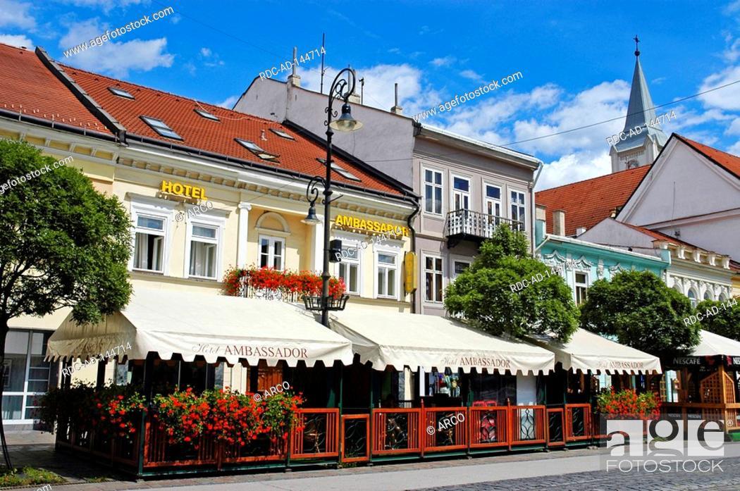 36fc56da8 Hotel Ambassador Kosice Slovakia, Stock Photo, Picture And Rights ...