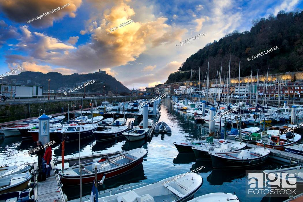 Stock Photo: Port, Donostia, San Sebastian, Gipuzkoa, Basque Country, Spain,.