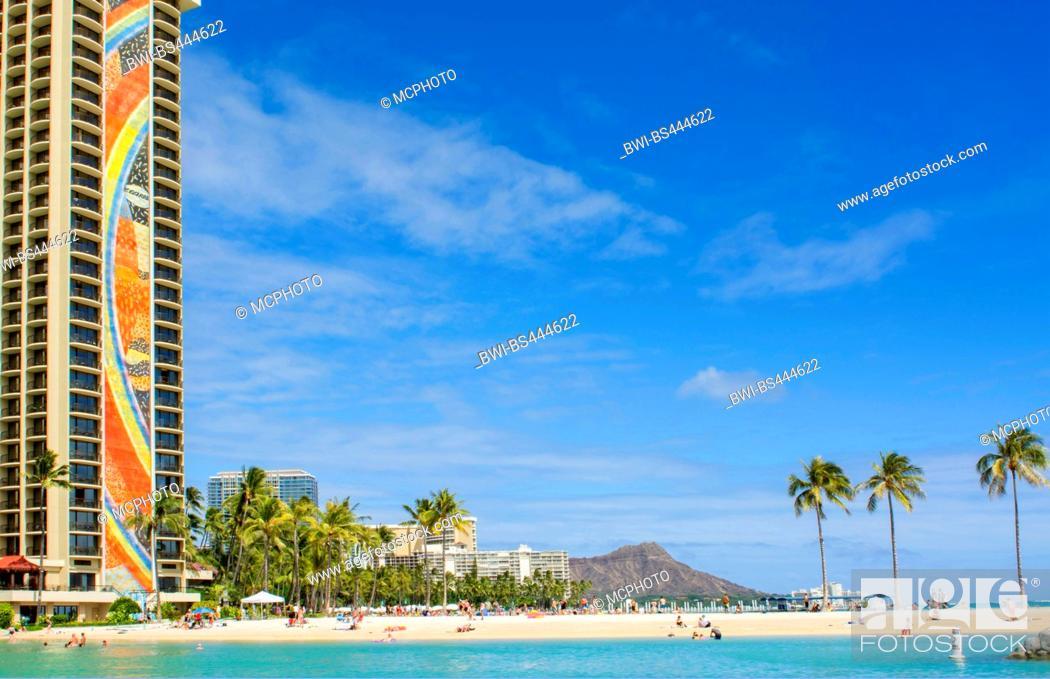 Hilton Hawaiian Waikiki Beach Resort Diamond Head Usa