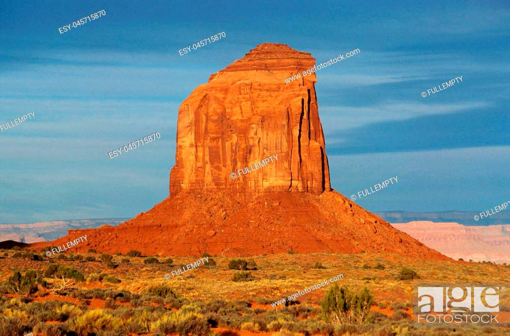 Imagen: Scenic view of Monument valley landscape in USA.