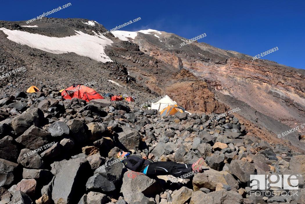 Turkey, Eastern Anatolia, Agri province, Mount Ararat