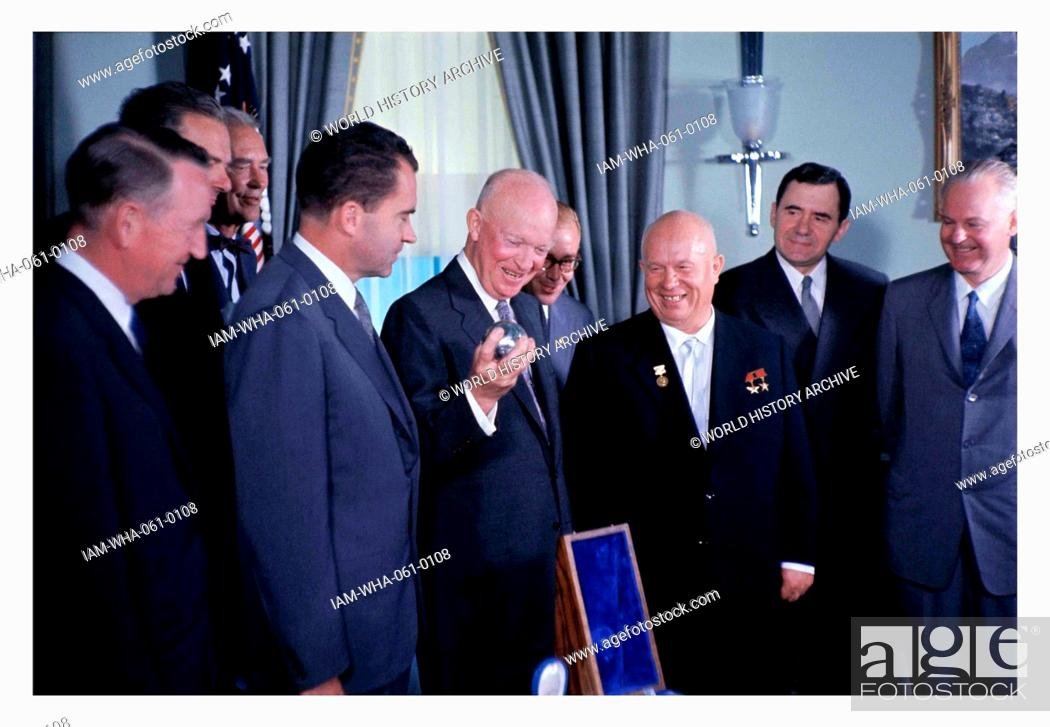 Image result for Nikita Khrushchev tour in usa 1959