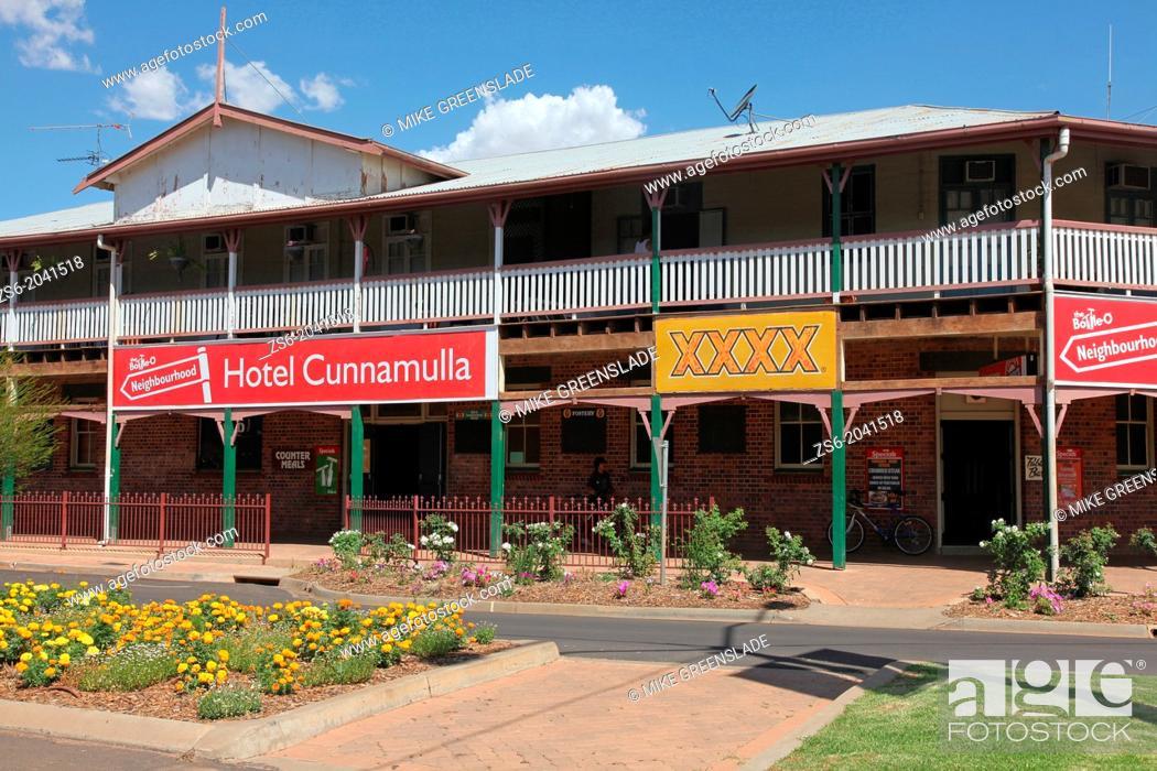 Imagen: Hotel Cunnamulla, Cunnamulla, QLD, Australia.