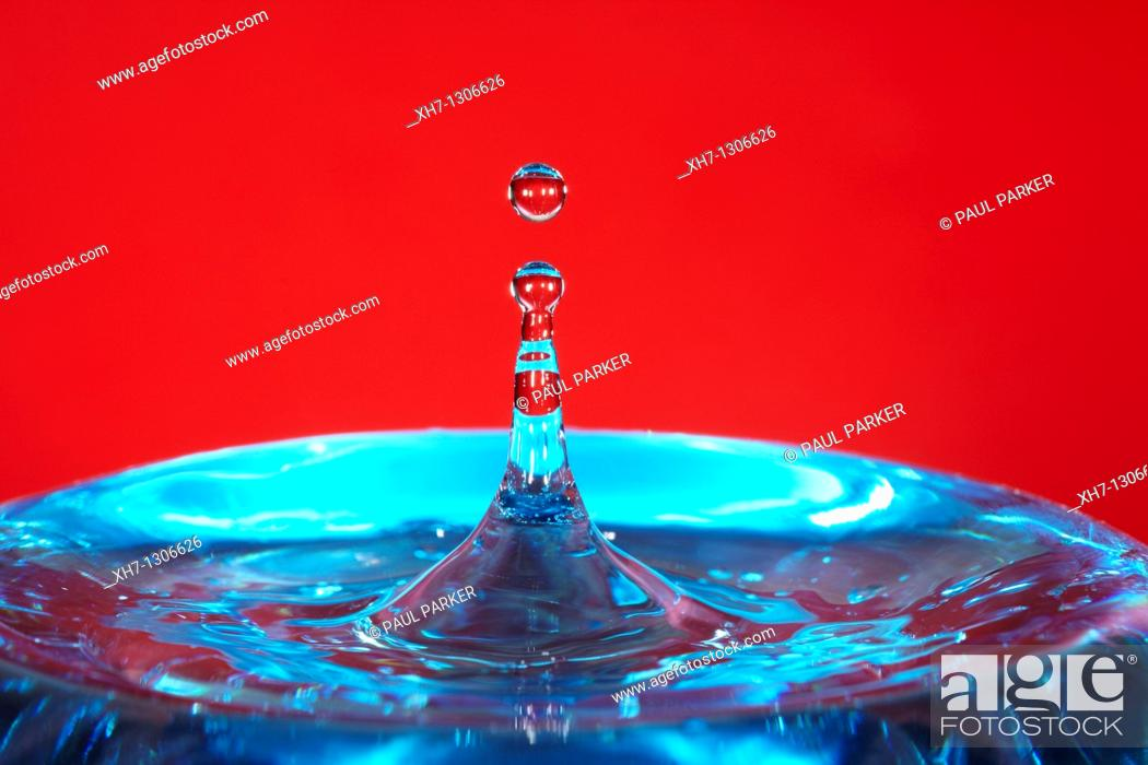 Stock Photo: Water Drops.