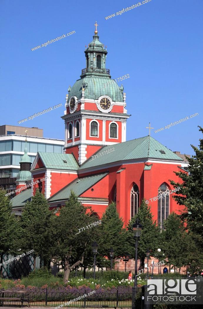 Stock Photo: Sweden, Stockholm, Jakobs Church,.