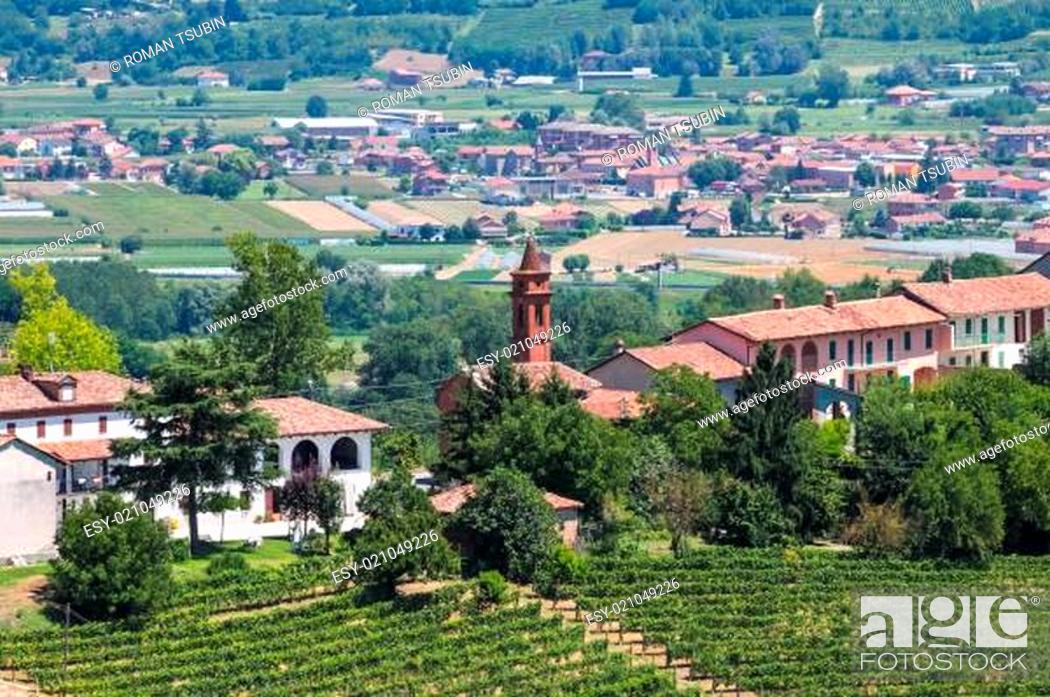 Stock Photo: Tuscany landscape, Italy.