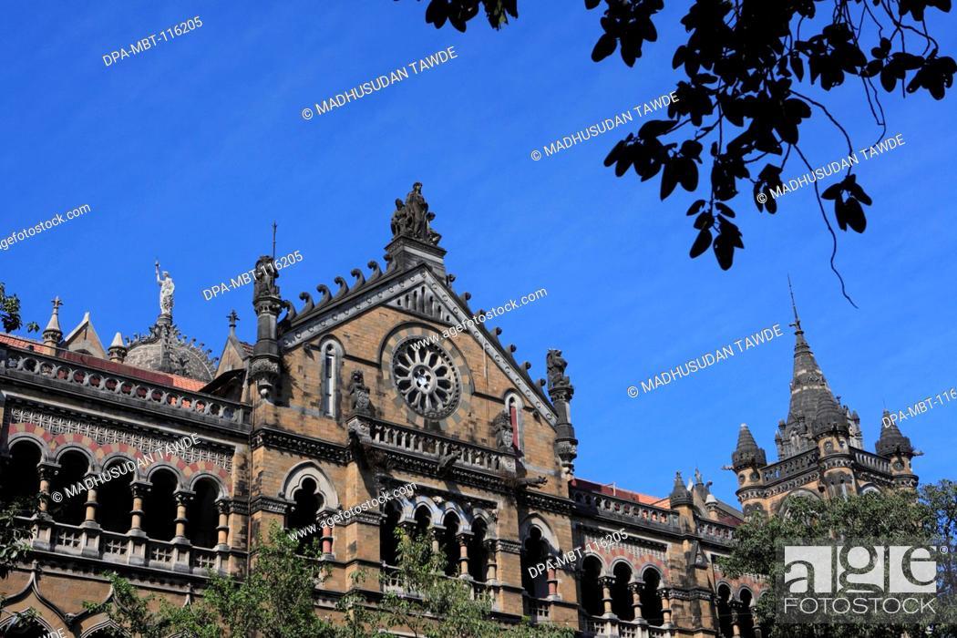 Chhatrapati Shivaji Terminus Formerly Victoria Victorian