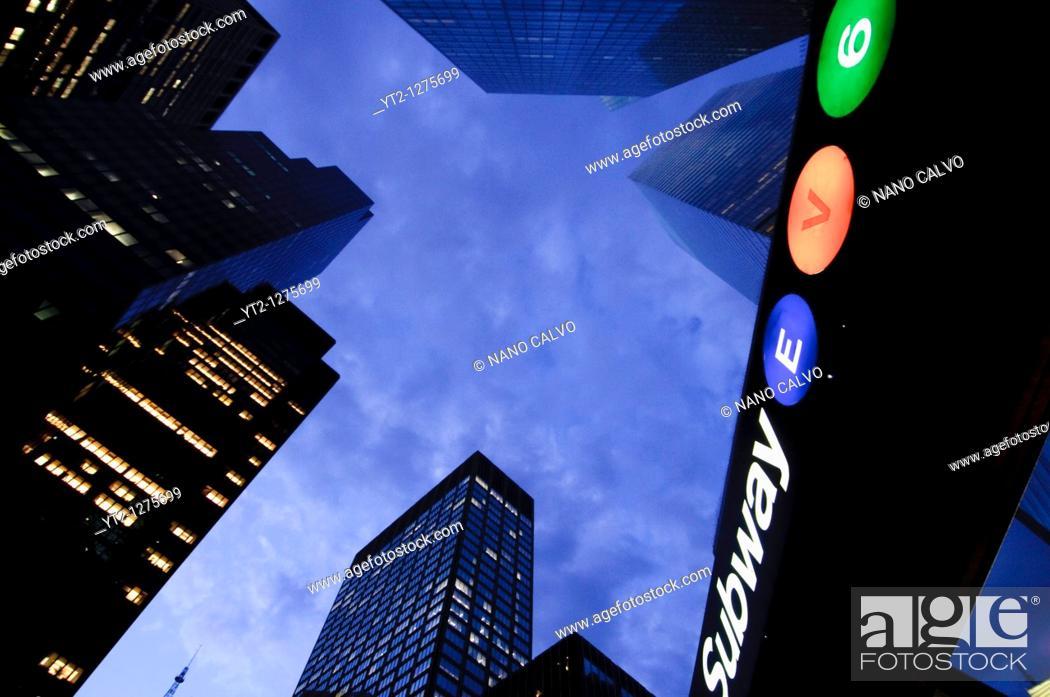 Stock Photo: New York City, New York State, USA.