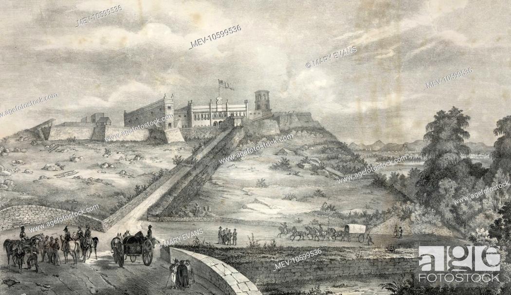 Stock Photo: Castle of Chapultepec.