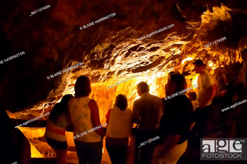 Stock Photo: Glenwood Caverns caves, Glenwood Caverns Adventure Park, Glenwood Springs, Colorado USA.