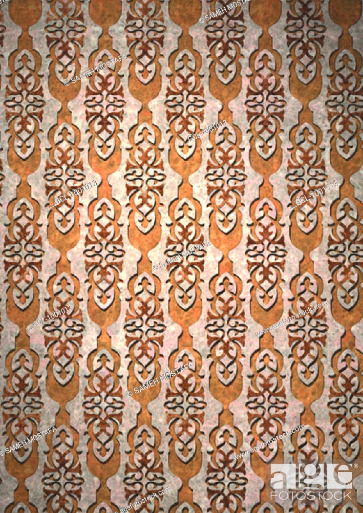 Stock Photo: Arabesque background.