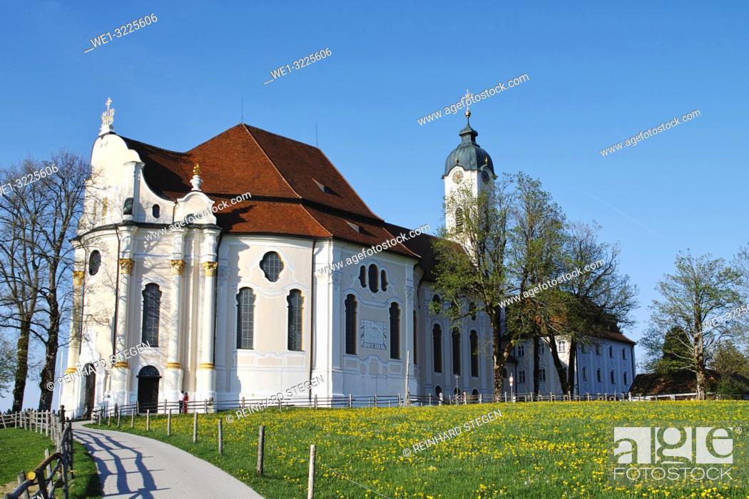 Imagen: Pilgrimage Church of Wies, Bavaria.