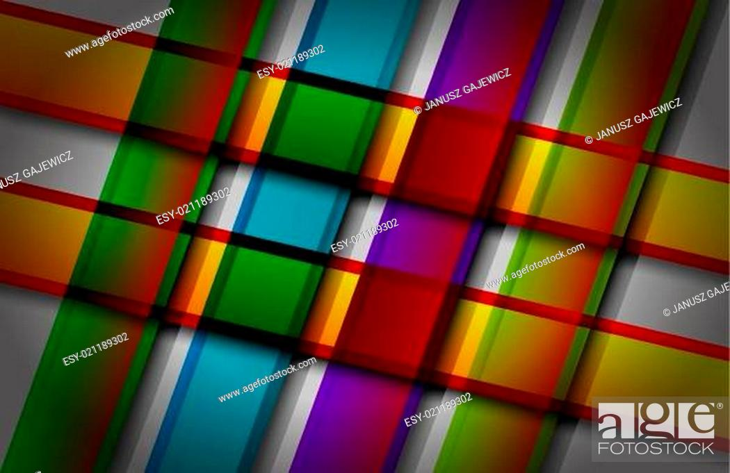 Stock Vector: Backgrounds, Shadow, Pattern, Line, Backdrop, Checked, Gradient, Square