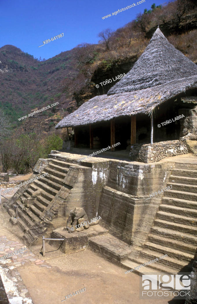 Stock Photo: Malinalco. México.