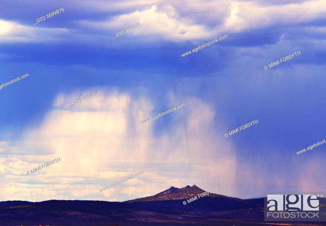 Stock Photo: storm, New Mexico.