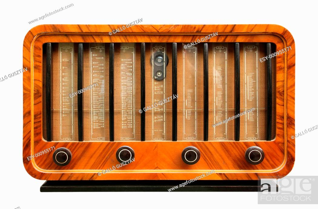old radio, Stock Photo, Picture And Low Budget Royalty Free