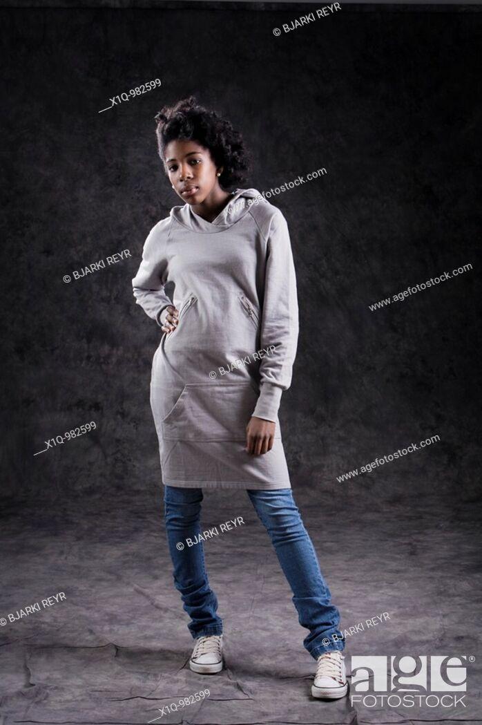 Stock Photo: Teenage girl.
