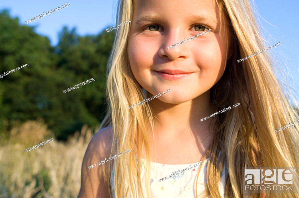 Stock Photo: Girl outdoors.