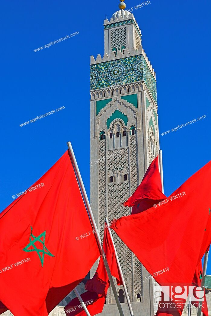 Stock Photo: Mosque Hassan II.