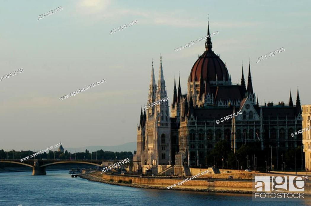 Stock Photo: Hungary, Budapest, Parliament.