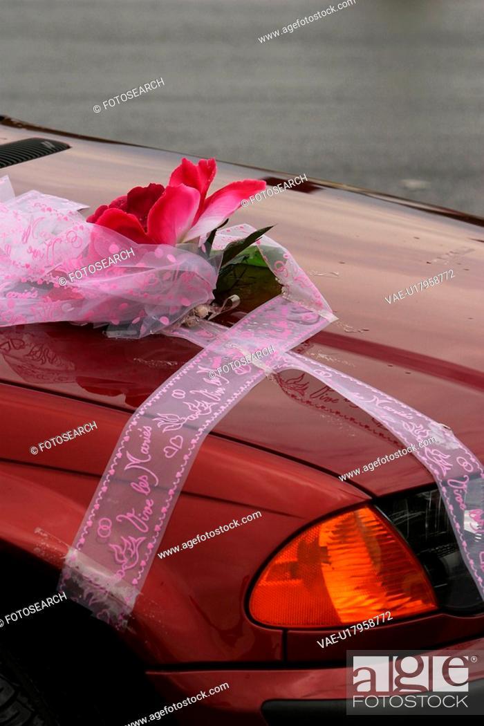 Stock Photo: car, vehicle, close-up, display, shine, parked.