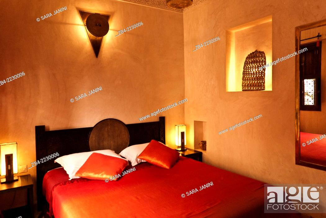Prime Bedroom Of A Moroccan Riad Inside The Medina Marrakesh Or Download Free Architecture Designs Scobabritishbridgeorg