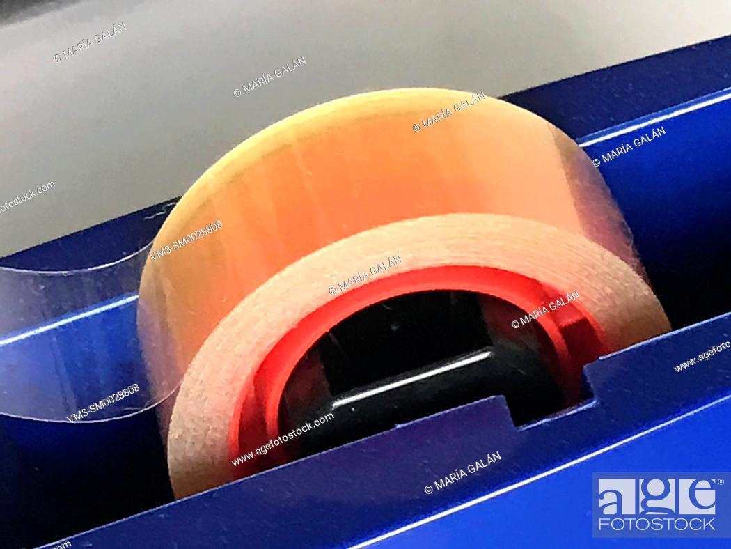 Stock Photo: Adhesive tape.