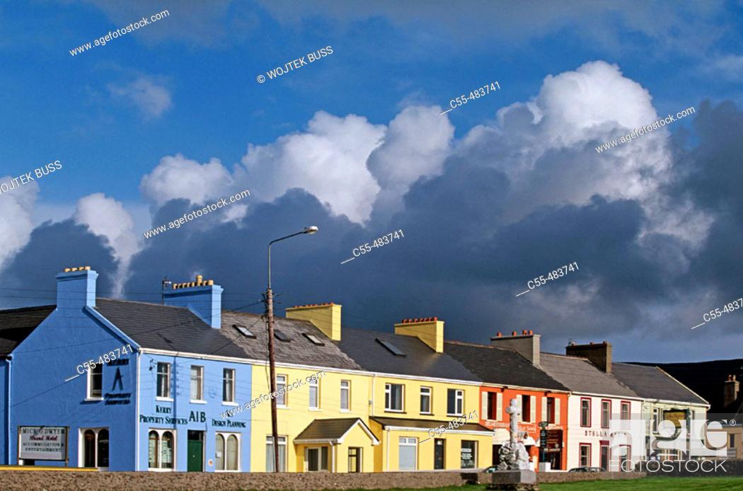 Stock Photo: Waterville. Co. Kerry. Ireland.
