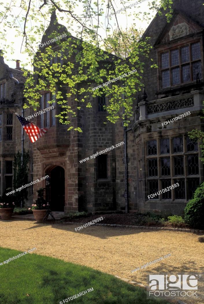 Richmond Virginia Va Virginia House A Tudor Mansion Imported From