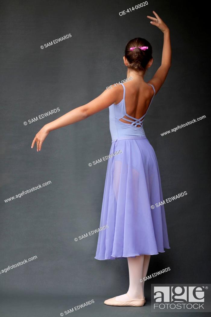 Stock Photo: Ballerina posing.
