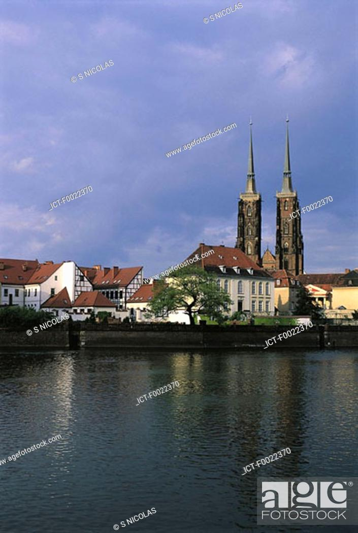 Stock Photo: Poland, Wroclaw, cathedral.