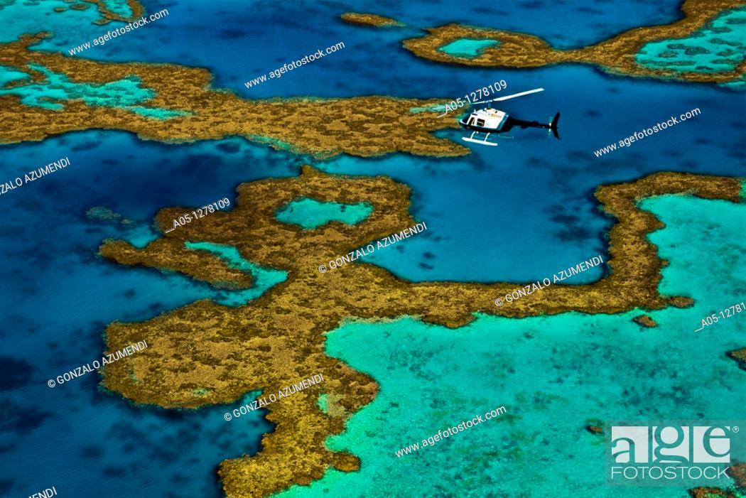 Stock Photo: Great Barrier Reef Queensland AUSTRALIA.