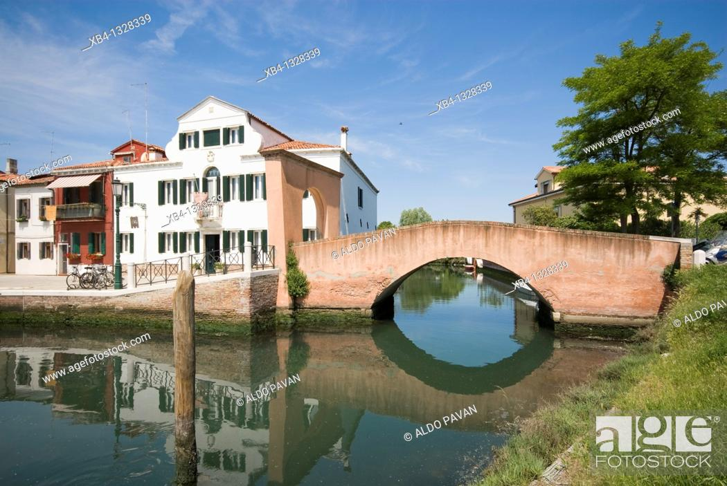 Stock Photo: Italy, Venice, Lido island, Malamocco.
