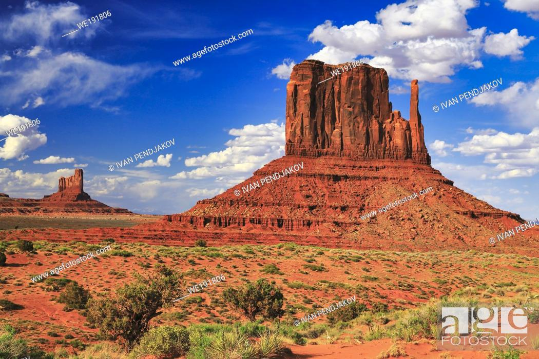 Stock Photo: Monument Valley, Arizona, USA.