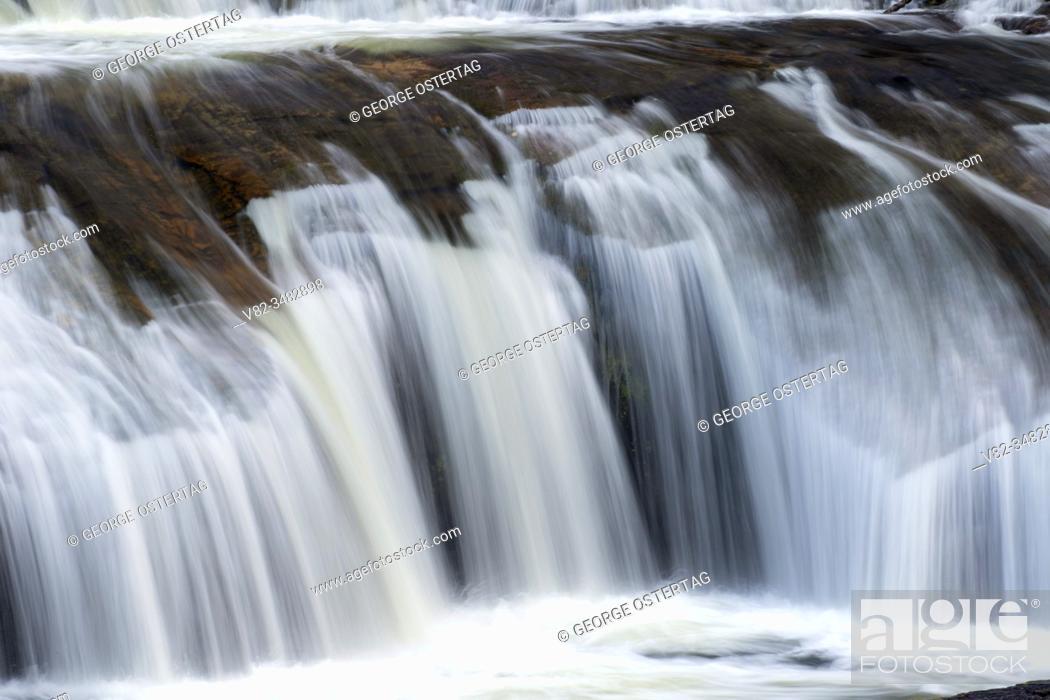 Stock Photo: South Umpqua Falls, Umpqua National Forest, Oregon.
