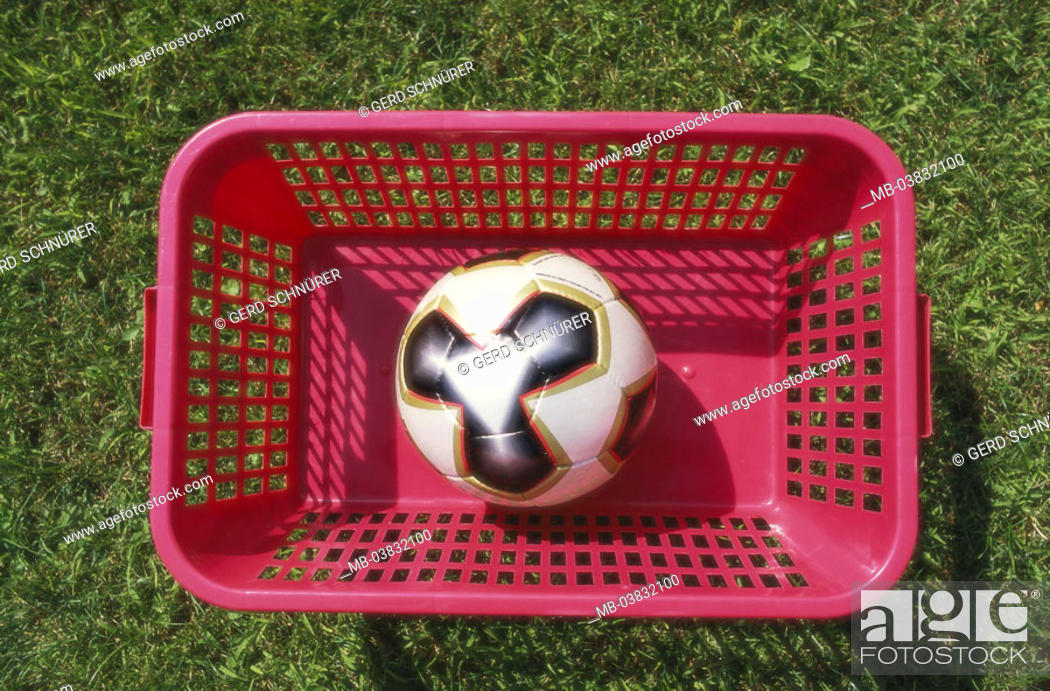 Meadow Basket Football From Above Laundry Basket Ball