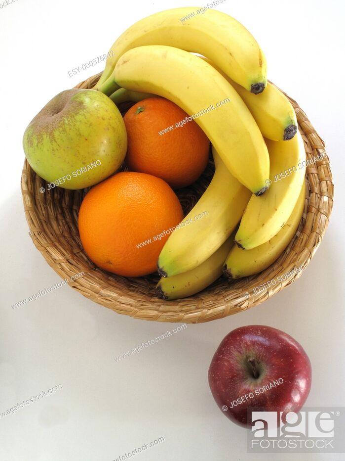 Stock Photo: fruit orchard.