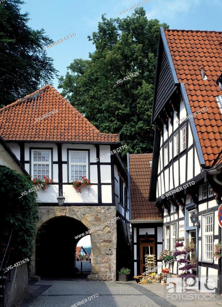 D-Tecklenburg, Tecklenburger Land, Muensterland, Naturpark ...