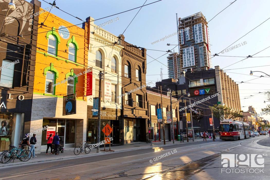 Imagen: CTV building, Queen Street West. Toronto, Ontario, Canada.