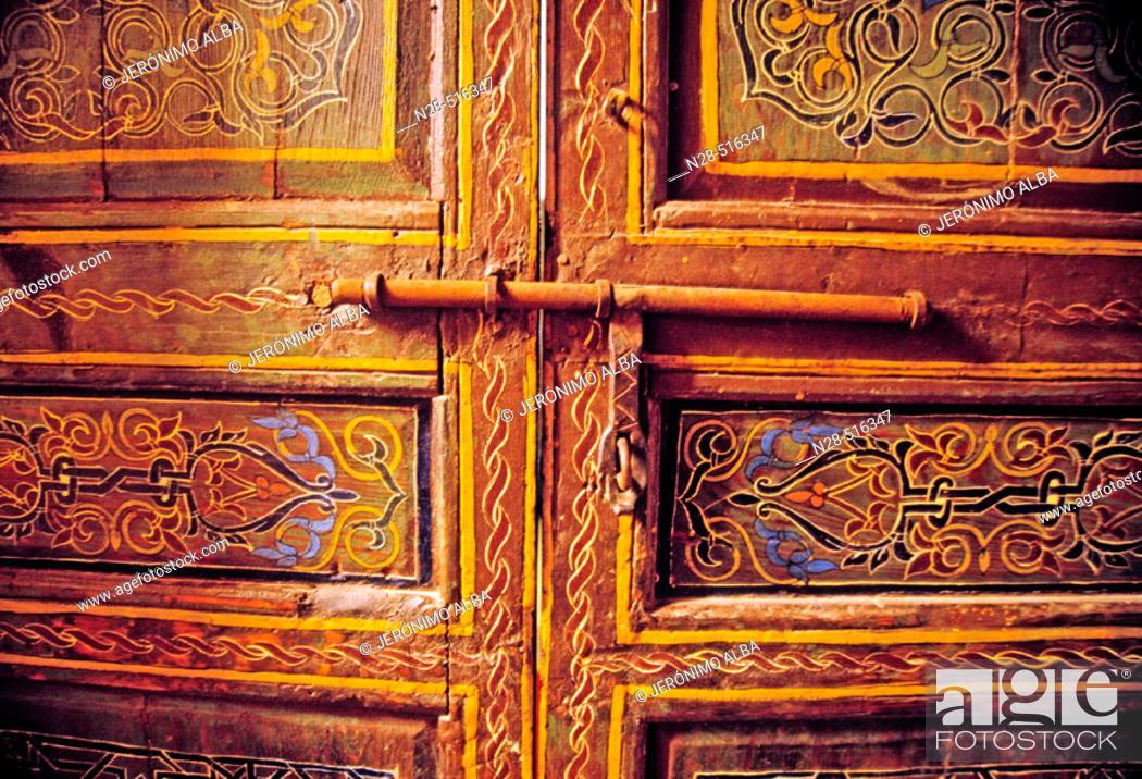 Stock Photo: Door. Morocco.