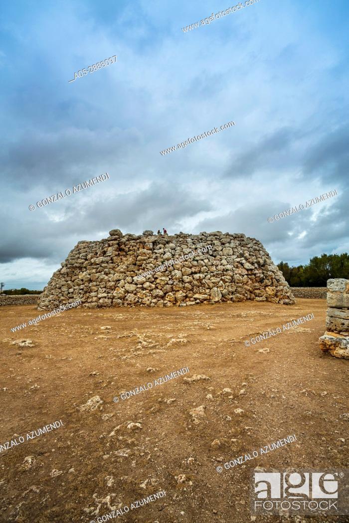 Imagen: Talayotic Village of Trepuco (800-450 b C). Mao Municipality. Minorca Island. Balearic Islands. Spain.