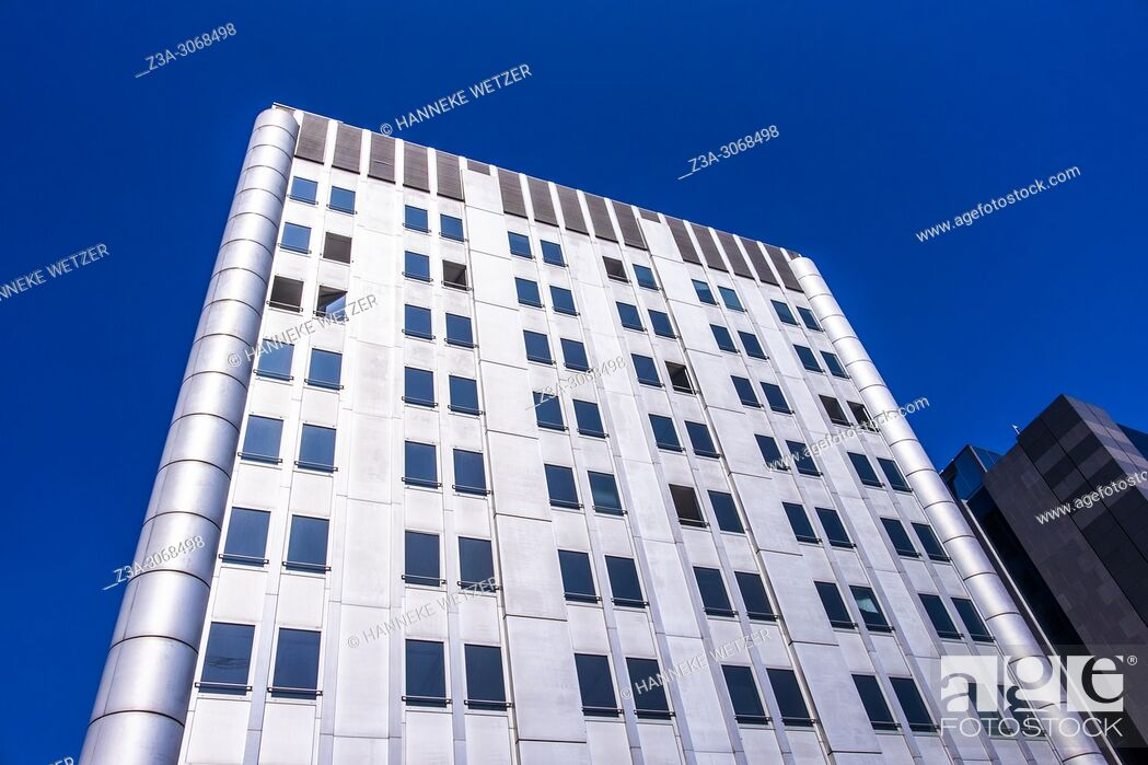 Stock Photo: Towering innovation of the flemish federal government, Brussels, Belgium, Europe.