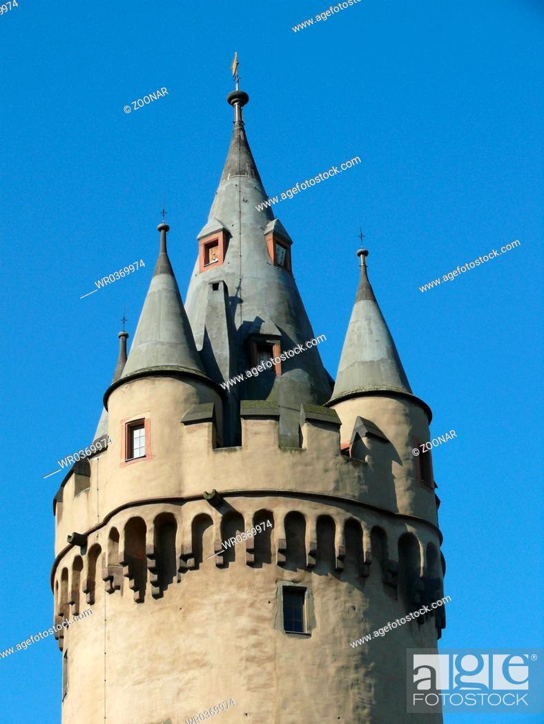 Stock Photo: Esch Turm in Frankfurt.