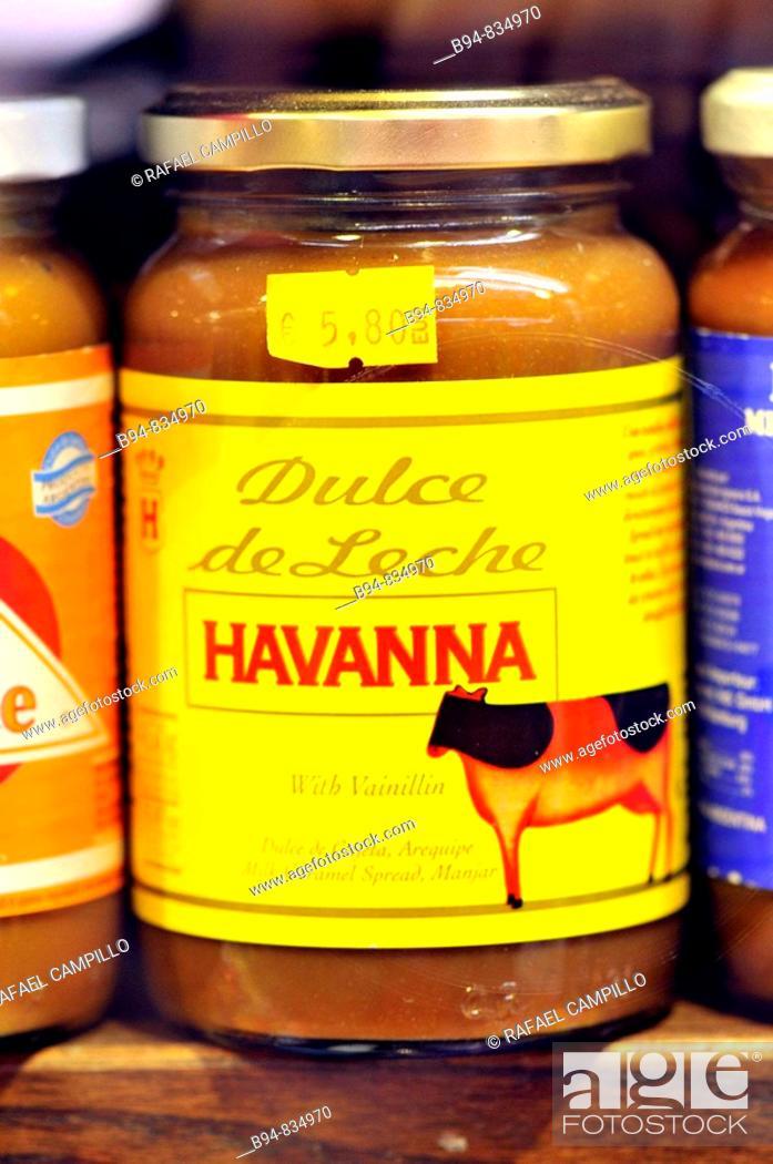 Stock Photo: Dulce de leche.
