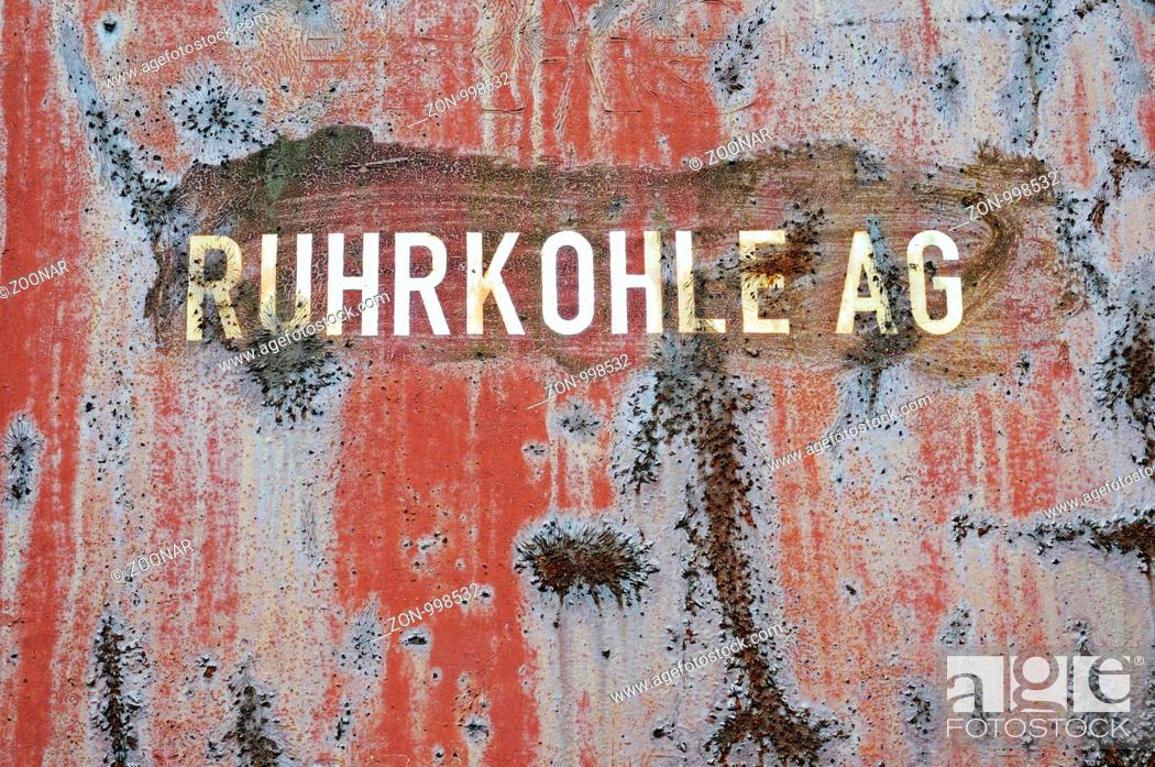 Stock Photo: Ruhrkohle AG.